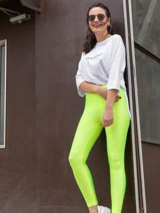 Neon Yeşil Tayt